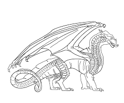 fire breathing dragon coloring pages 18 images of wings of fire nightwing coloring pages wings of