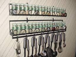 Kitchen Spice Storage Ideas Kitchen Hanging Spice Rack For Your Spice Storage Solutions