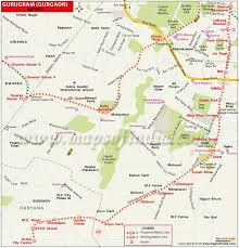 the metro map gurugram gurgaon metro map