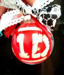 one direction ornament or gift tag free personalization by