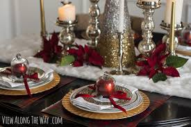 Decorating My Dining Room by Christmas Centerpiece And Tablescape Ideas