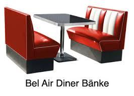 bank für küche route 66 store belair jolina 50er jahre diner moebel