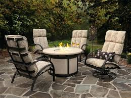 outdoor furniture set with fire pit outdoor fire pit sets fire pit