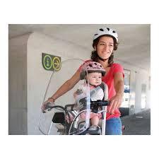siege avant bebe velo polisport pare brise pour porte bébé avant alibabike