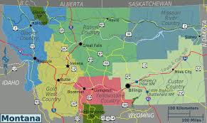 Montana Weather Map by Montana U2013 Travel Guide At Wikivoyage