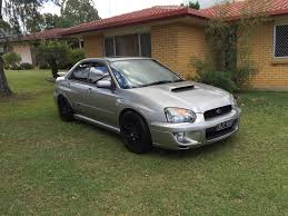 subaru evo 2005 subaru impreza wrx club spec evo 8 my05 car sales qld