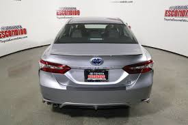 new 2018 toyota camry hybrid se 4dr car in escondido 1015318