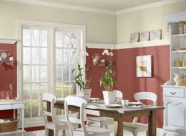 red dining room colors interior design