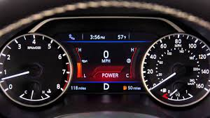 2016 nissan maxima manual shift mode youtube