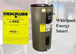 whirlpool energy smart electric water heater