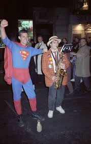 1990 halloween costumes file greenwich village halloween parade 1990 superman jpg