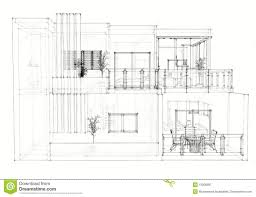 Interior House Drawing Free Architectural Drawing Design Interior