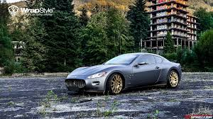 2017 maserati granturismo matte black vinyl wrapped granturismo google search cars pinterest