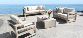 25 collection of modern outdoor patio sofa set