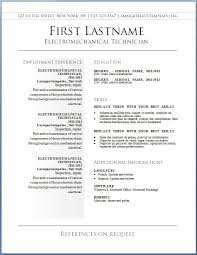 Basic Resume Format Examples by Resume Download Template Free