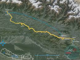 Kathmandu Nepal Map by Hilltops And Villages Tour Of Nepal Village Tour Nepal Tours