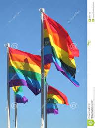 Flag British Columbia Pride Flags Vancouver British Columbia Stock Photo Image