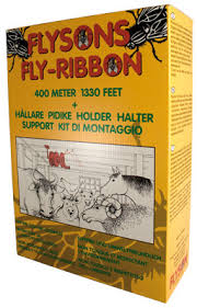 fly ribbon fly ribbon adhesive trap 400 m with holder agriculture and