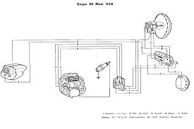 vespa wiring schematic wiring diagrams schematics