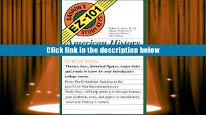 free download american history to 1877 barron s ez 101 study