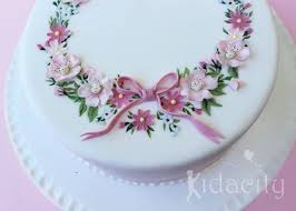 floral garland wedding cakes u0026 tutorial cake geek magazine