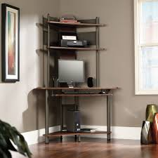 Corner Computer Desk With Hutch by Decorating Small Corner Desk With Hutch In Black For Home