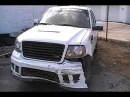 ford saleen truck 2008 saleen s331 wreck repair