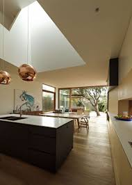 sleek and functional sydney house creative contemporary design view in gallery open plan dining area kitchen and family space