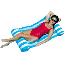 blue wave blue island water hammock pool float nt1240b the home
