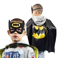 batman halloween costume toddler amazon com halloween superhero costumes for boys u2013 4 capes and
