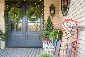 front porch christmas decorations front porch christmas decorating ideas bigger than the three of us