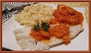cuisiner du colin filets de colin à la sauce tomate oh la gourmande