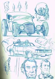 random sketches by boston joe on deviantart