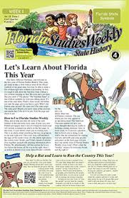 florida studies weekly 4th grade