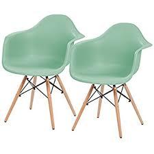 Mid Century Modern Armchairs Amazon Com Iris Mid Century Modern Shell Chair With Wood Eiffel