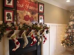 home decorating christmas christmas mantel garland decorations decorating holiday mantels