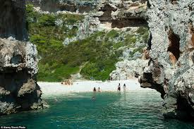 croatian island stiniva voted best in europe daily mail