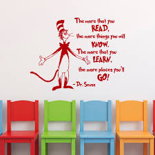 Dr Seuss Bedroom Youer Than You Dr Seuss Wall Art Stickers Decals Words Quotes Nursery