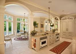 Mediterranean Kitchen - mediterranean kitchen with flat panel cabinets by jordan hoffsmith