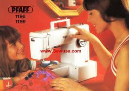 pfaff sewing machine manual pfaff 1196 1197 instruction manual