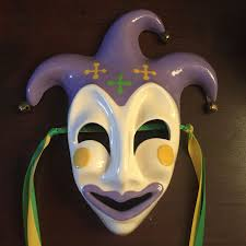 ceramic mardi gras masks ceramic mardi gras mask new orleans purple green gold