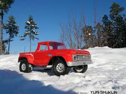 Classic Ford Truck Gifts - pro line 1966 ford f 100 body 3408 for short course
