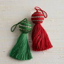 tassel tree ornament set the company store