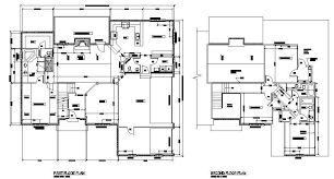 architectural house plans and designs house plan cad layout drawing cadblocksfree cad blocks free