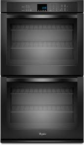 whirlpool double wall ovens