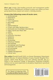 nurse practitioner acute care protocols fourth edition for