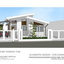 interior design alluring modern bungalow house exterior design and