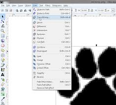convert a simple image to a vector graphic using gimp and inkscape