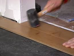 Installing Laminate Flooring On Concrete How To Install An Engineered Hardwood Floor How Tos Diy