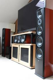 home theater tower speakers home theater gallery aperion audio